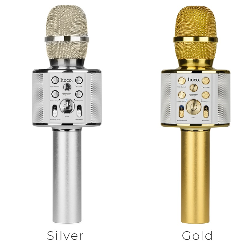 bk3 cool sound karaoke microphone colors
