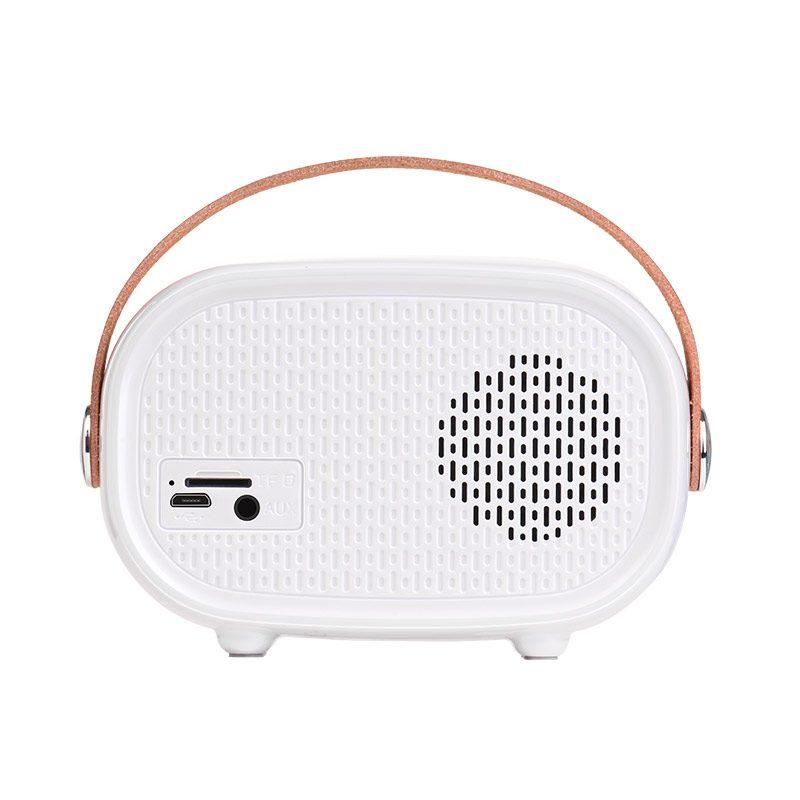 bs16 voice reminder bluetooth speaker back