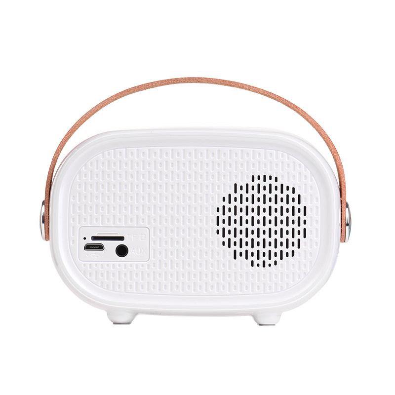 bs16 voice reminder bluetooth speaker back