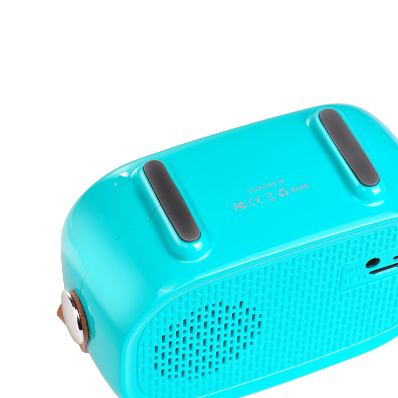 bs16 voice reminder bluetooth speaker bottom