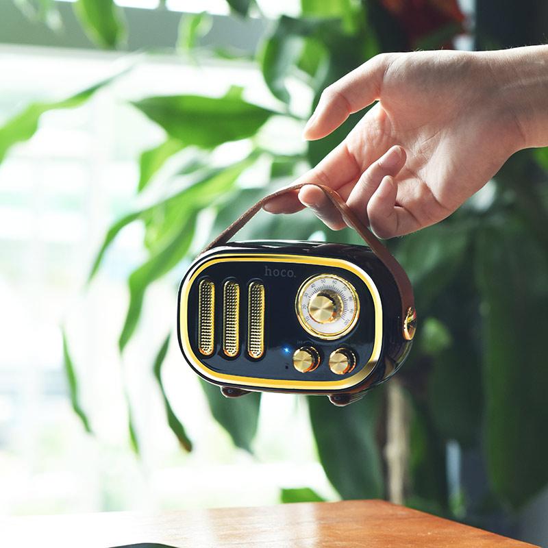 bs16 voice reminder bluetooth speaker hand