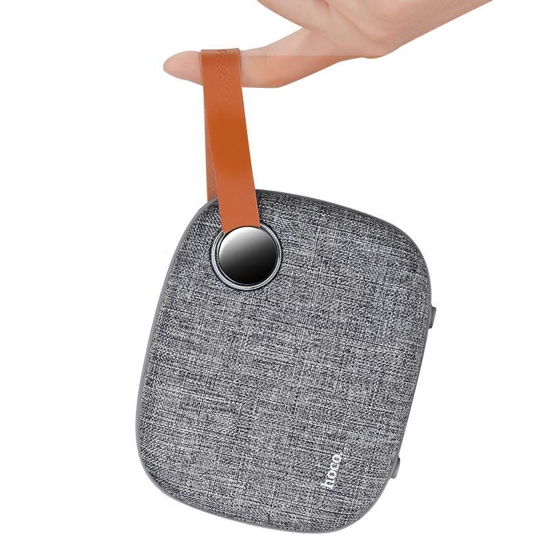 bs8 plain textile desktop wireless speaker hanged