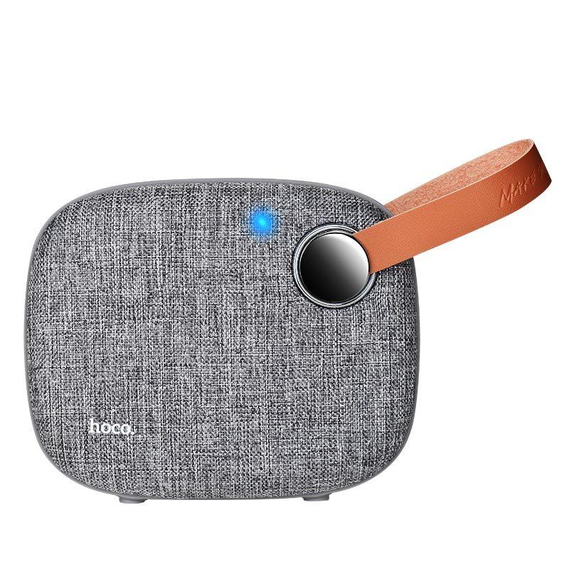 bs8 plain textile desktop wireless speaker indicator