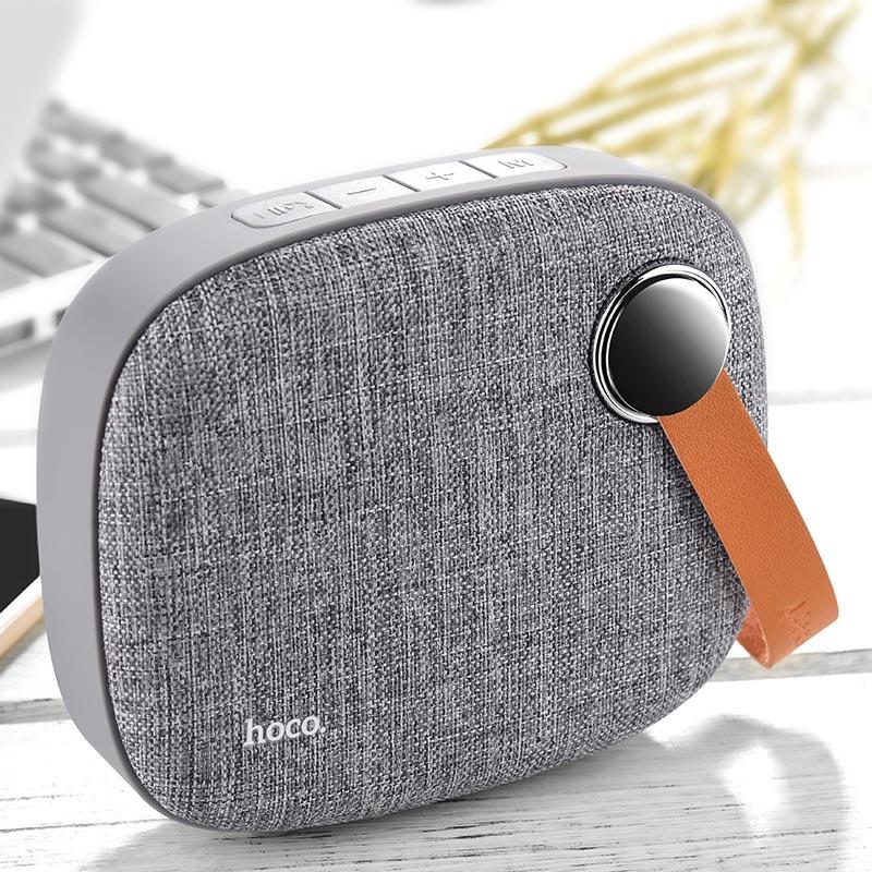 bs8 plain textile desktop wireless speaker overview