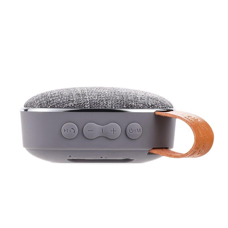 bs9 light textile desktop wireless speaker buttons