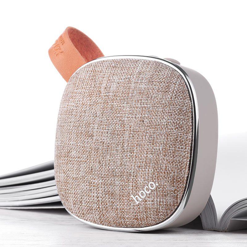 bs9 light textile desktop wireless speaker overview
