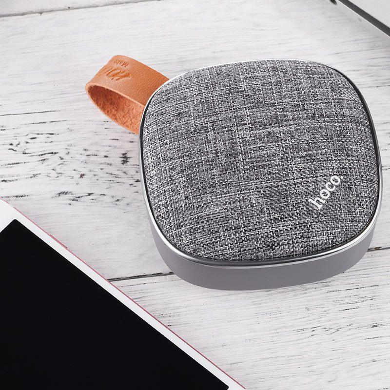 bs9 light textile desktop wireless speaker tabletop