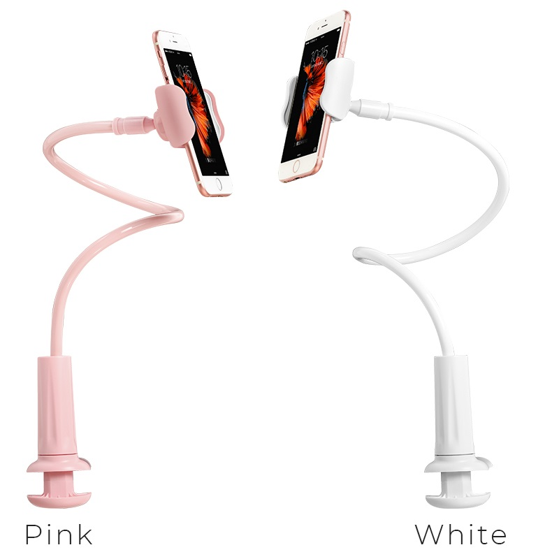 ca10 lazy stent mobile phone holder with clip colors