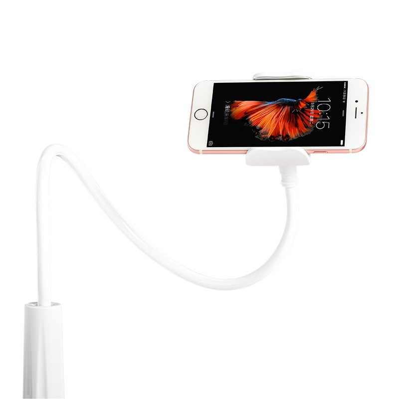 ca10 lazy stent mobile phone holder with clip wave
