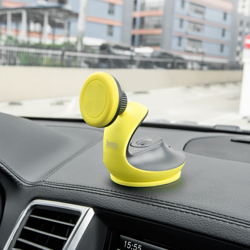 ca15 accompanist series swan suction magnetic phone holder black in car