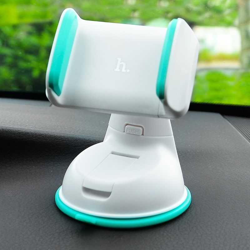 ca5 suction cell phone in car holder interior blue