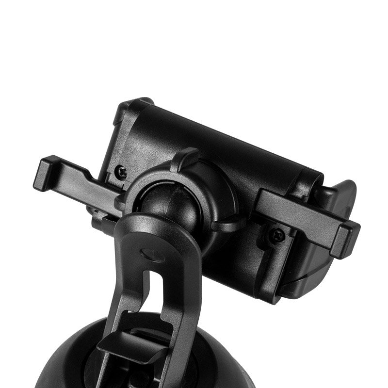 cph17 semi automatic suction mobile phone in car holder clip