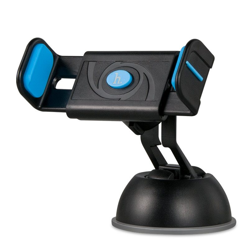 cph17 semi automatic suction mobile phone in car holder clip blue