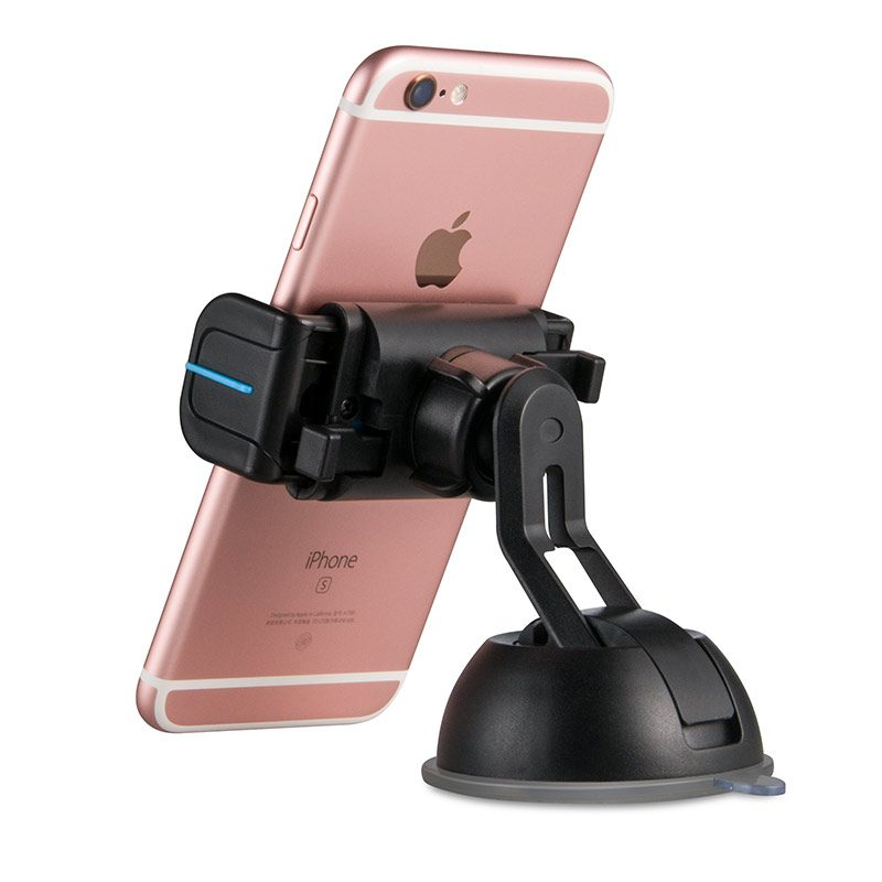 cph17 semi automatic suction mobile phone in car holder with phone back