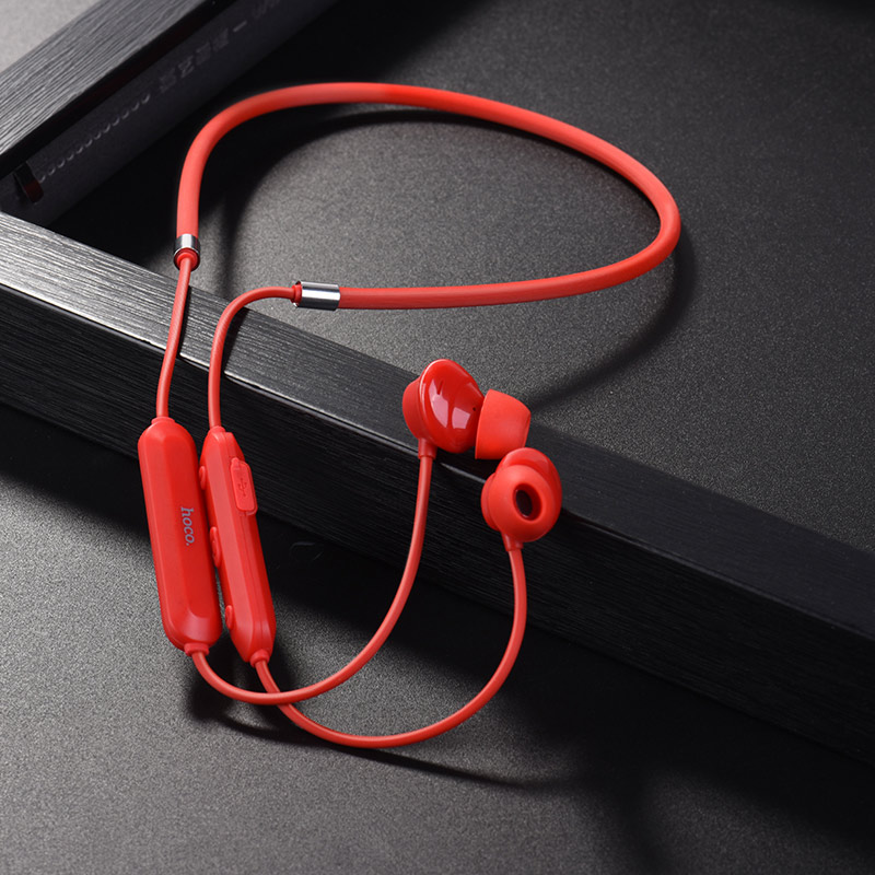 es17 cool music bluetooth earphones interior red