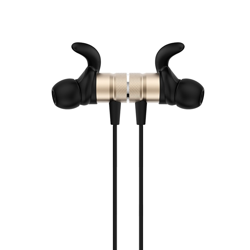 es8 nimble sporting bluetooth earphones magnet gold
