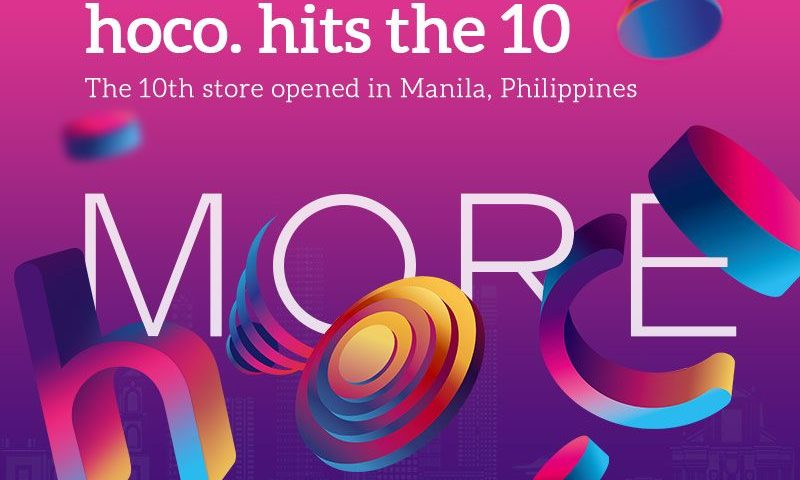 hoco hits ten tenth store in philippines post