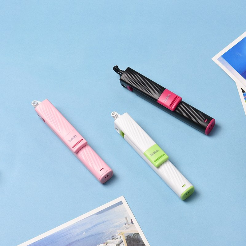 k7 dainty mini wired selfie stick all colors