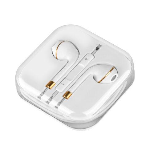 m1 original series earphone for apple case white