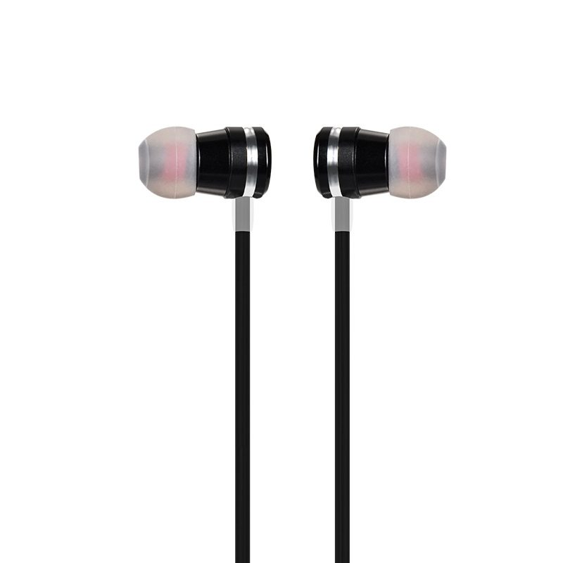 m16 ling sound metal universal earphones with mic left right