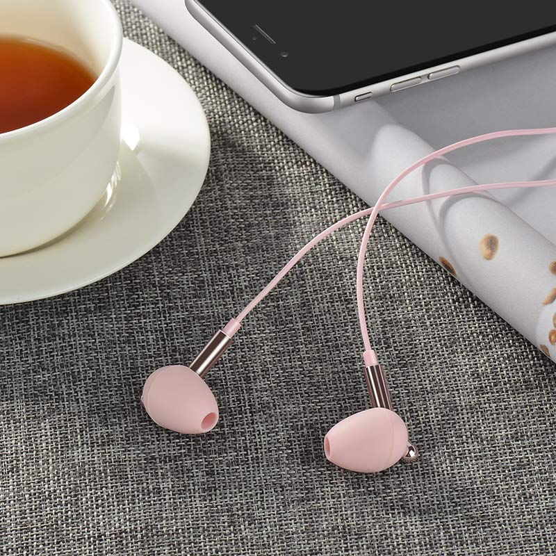 m25 your meaning wired earphones with mic interior