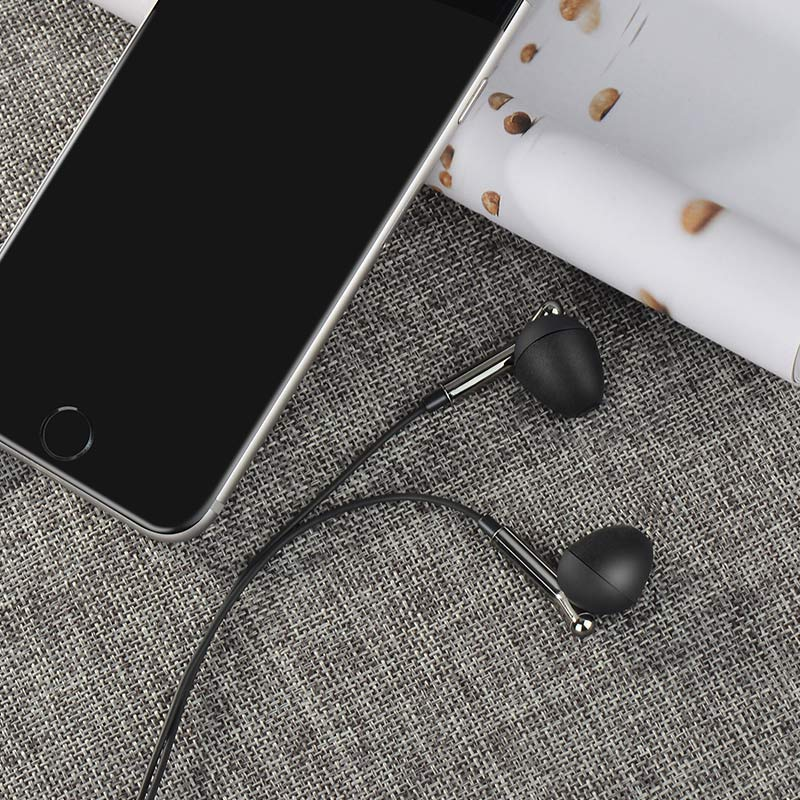 m25 your meaning wired earphones with mic with phone