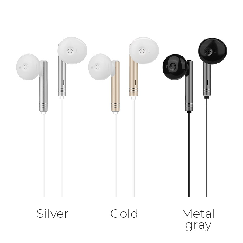 m26 zorun wire controllable earphone with mic colors