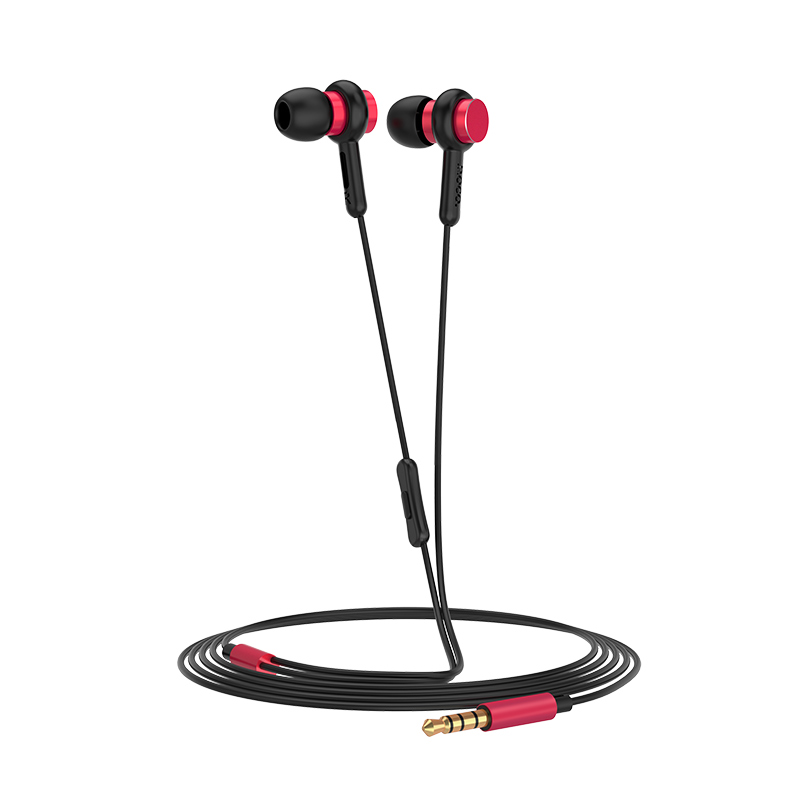 m38 rhythm universal earphones with microphone overview