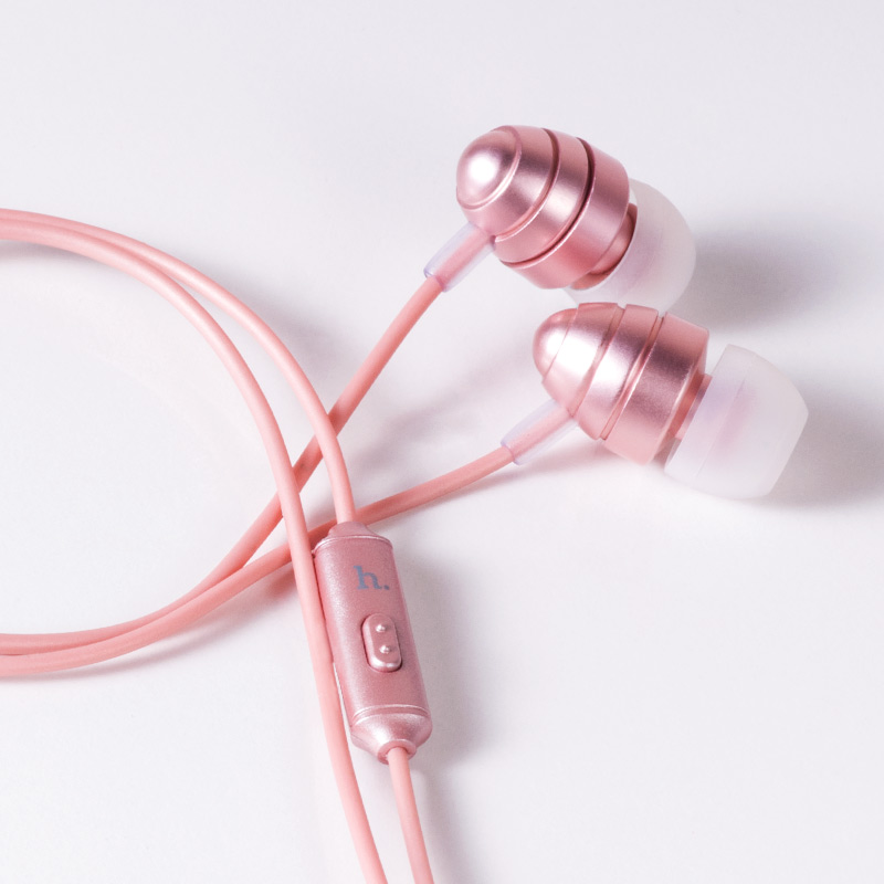 m5 conch universal headset interior rose gold