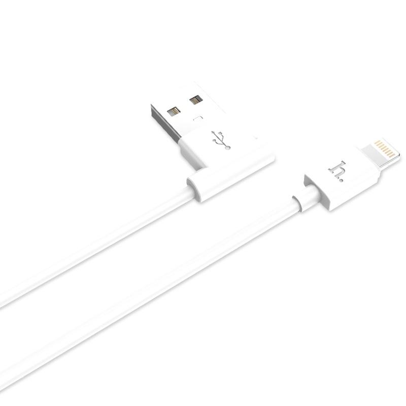 upl11 l shape lightning cable angled