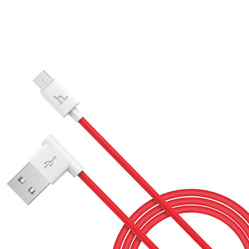 upm10 l shape micro usb charging cable left