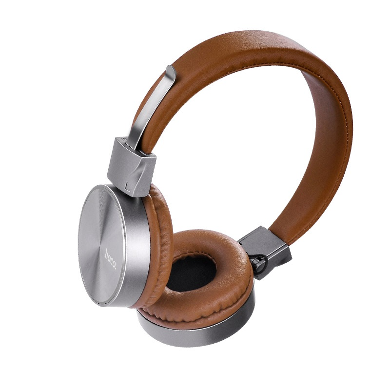 w2 wired headphones brown main