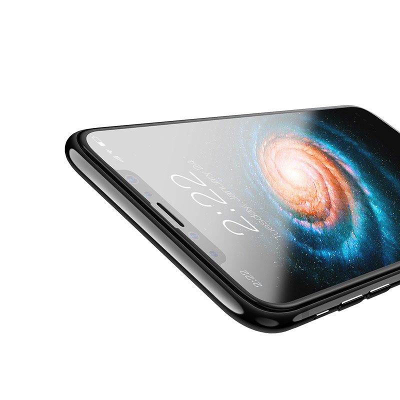 0.2mm full screen curved surface hd tempered glass a2 iphone x cuts