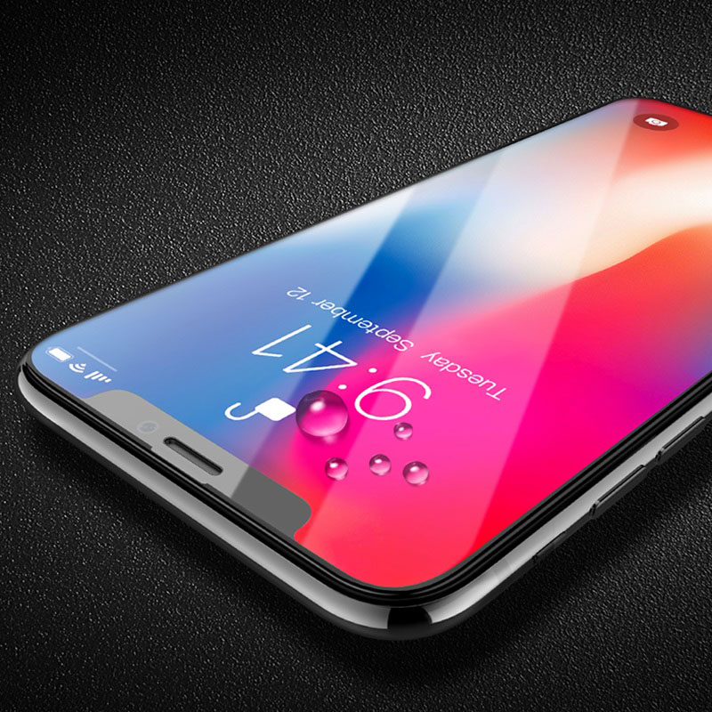 0.2mm full screen curved surface hd tempered glass a2 iphone x edges