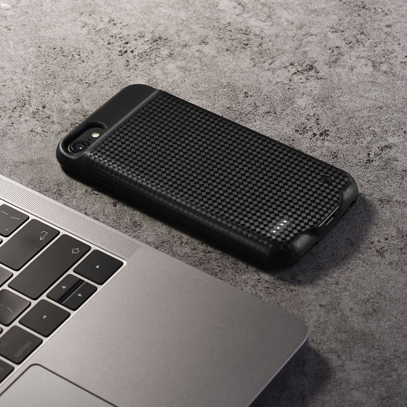 bw6 wayfarer 2800mah power bank case iphone 6 6S 7 8 texture