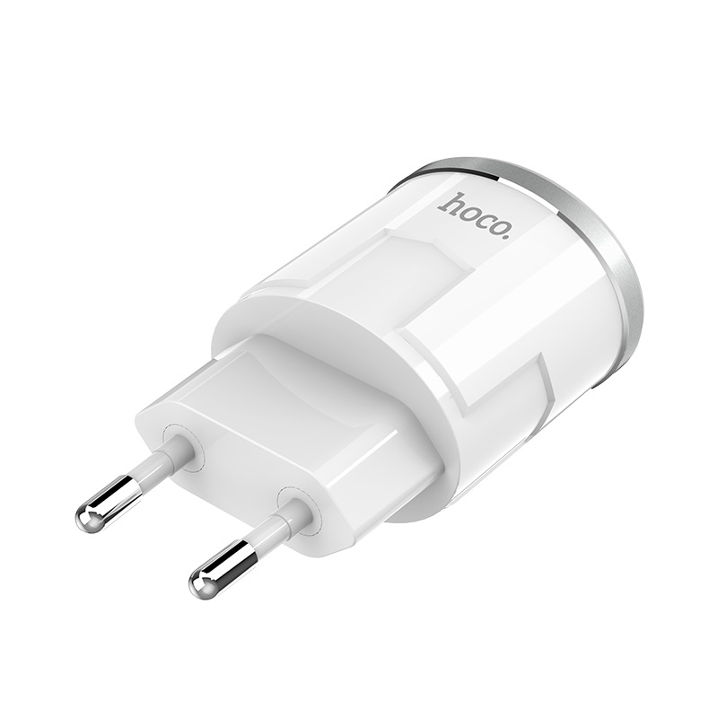 c38a thunder power dual usb port eu charger plug