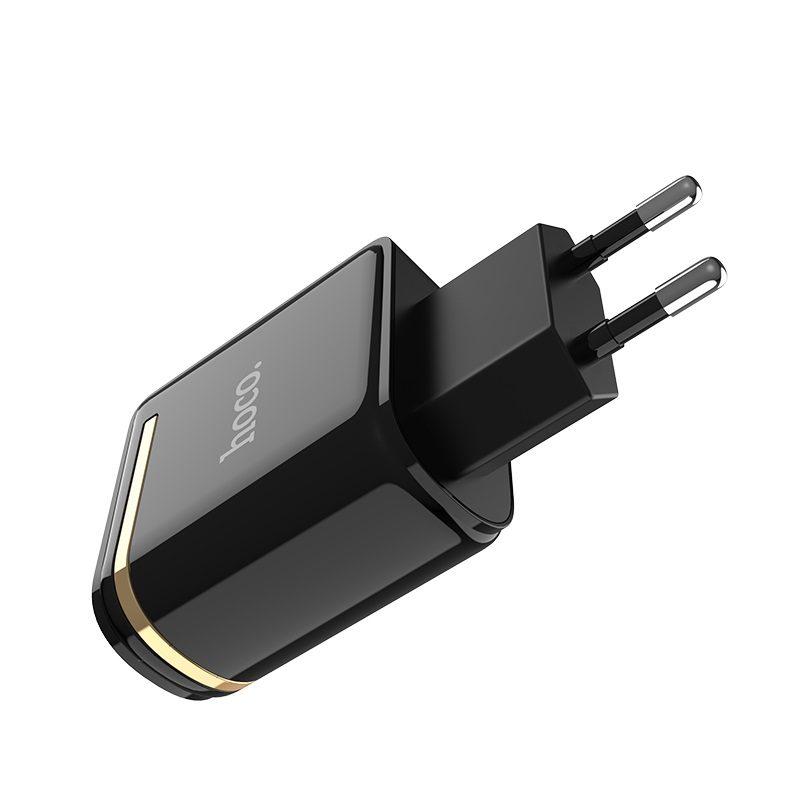 c39a enchanting dual usb port digital display eu charger pins