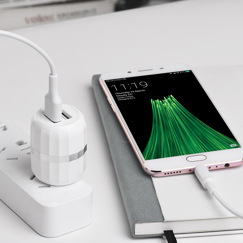 c41 wisdom dual port us charger charging