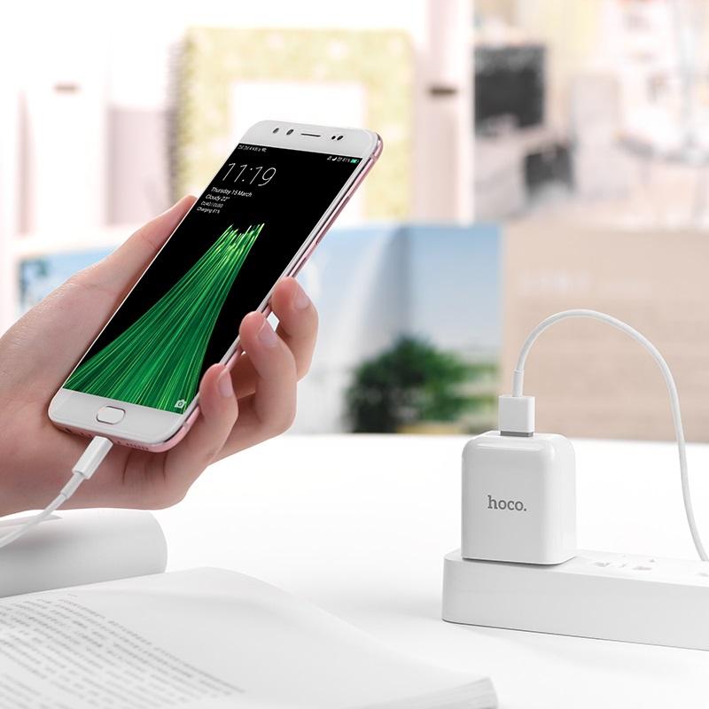 c49 cool treasure single port charger set with micro usb phone