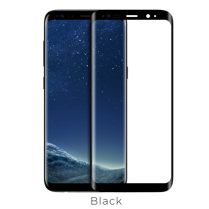 galaxy s8 s8 plus curve full protection glass black