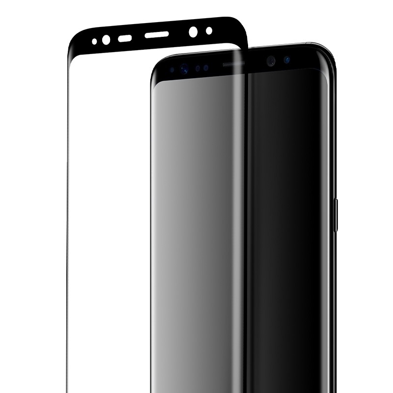 curved full screen protection tempered glass galaxy s8 s8 plus front