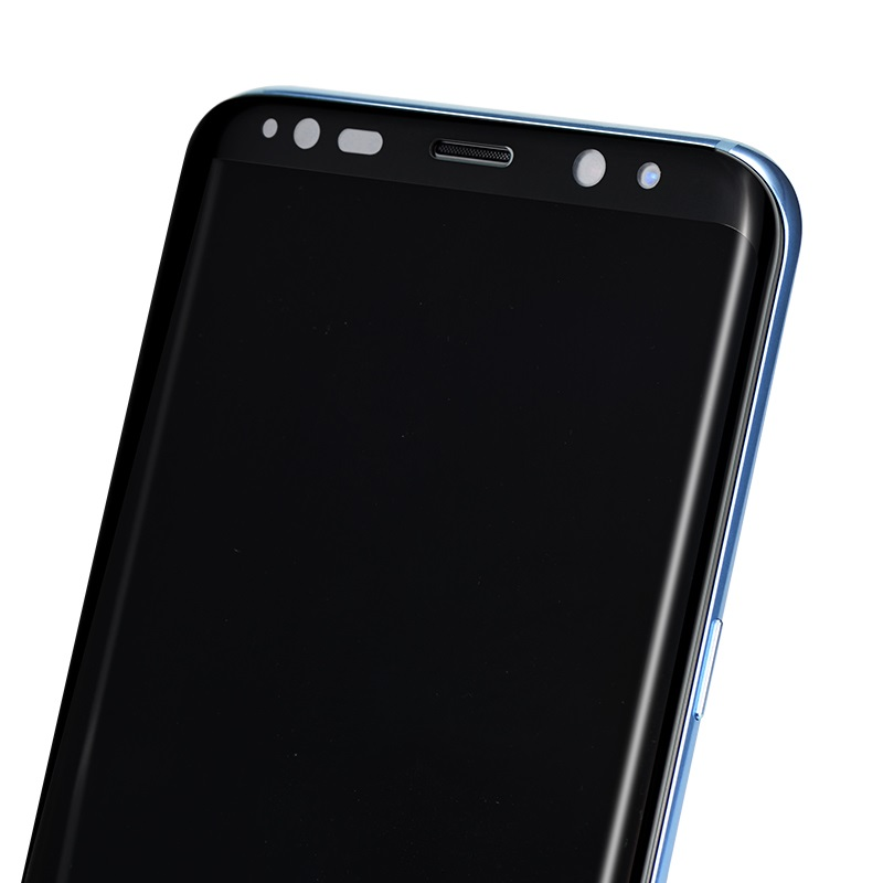 curved full screen protection tempered glass galaxy s8 s8 plus holes