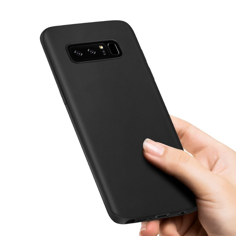 fascination series protective case galaxy note 8 in hand