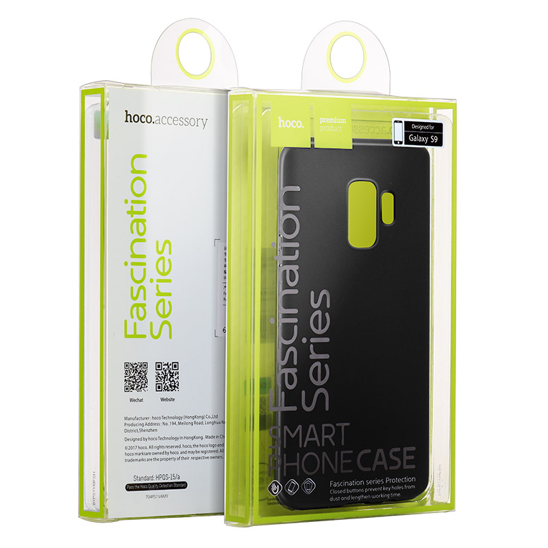 fascination series protective case galaxy s9 package