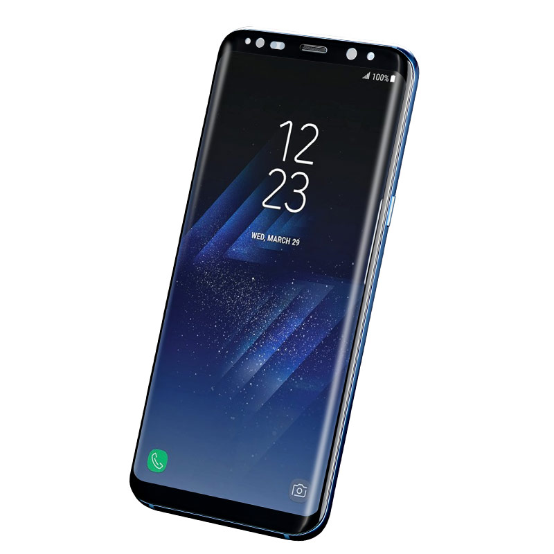 full high transparent tempered glass galaxy s9 plus holes