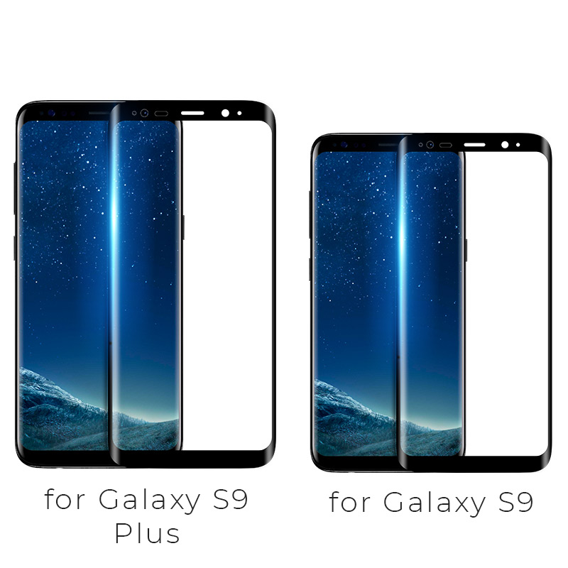 full high transparent tempered glass galaxy s9 plus model