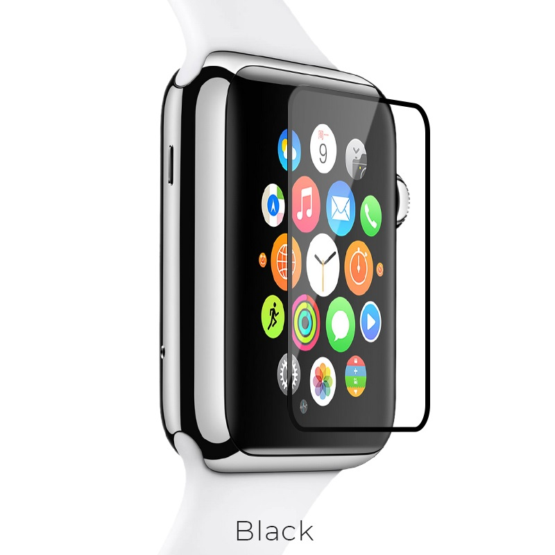 apple watch full rim glass black