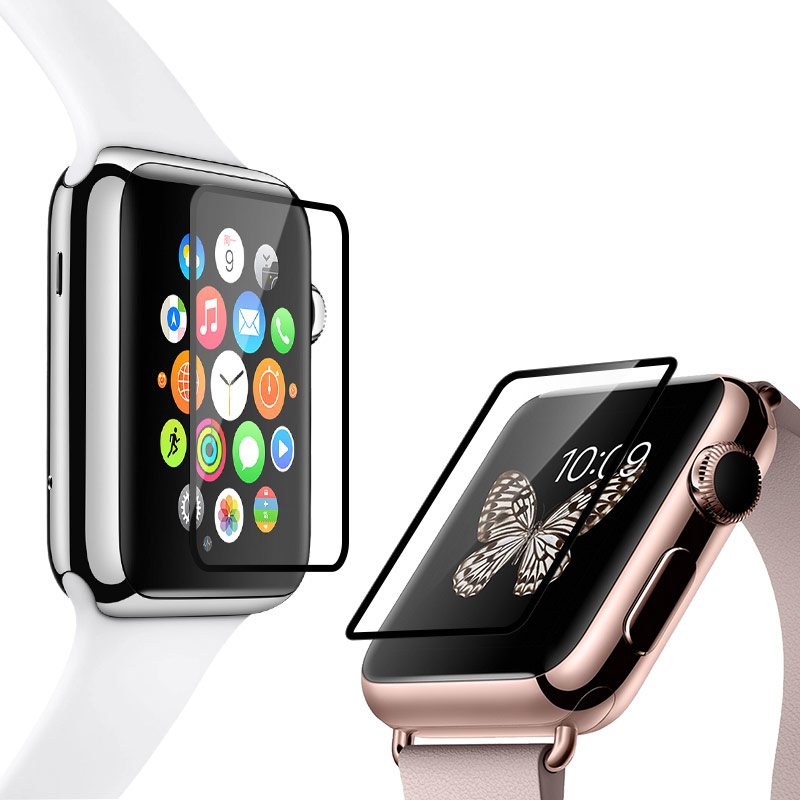 full rim tempered glass screen protector apple watch film