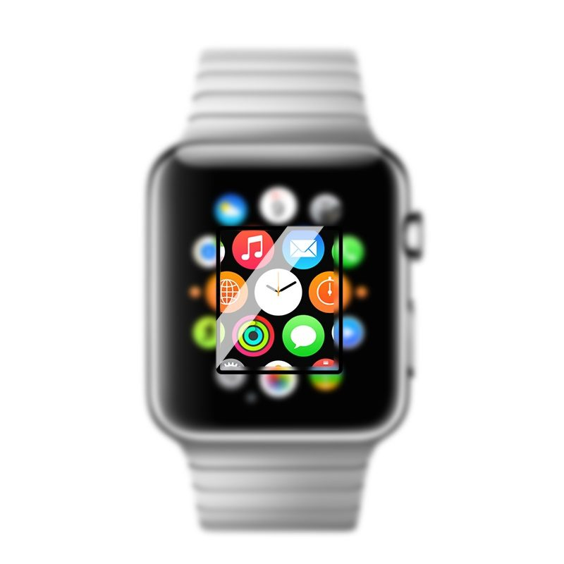 full rim tempered glass screen protector apple watch overview
