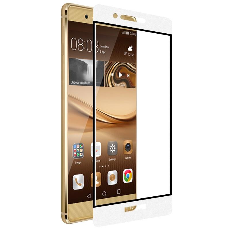 ghost series full screen toughened glass film huawei p9 golden phone